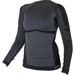 Bluzki sportowe damskie: Brugi Koszulka damska 2RAK 500 Nero czarno grafitowa r. L/XL