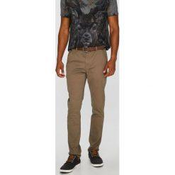Medicine - Spodnie Basic. Brązowe chinosy męskie MEDICINE, z bawełny. W wyprzedaży za 103,90 zł.