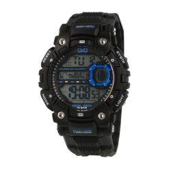 Biżuteria i zegarki męskie: Zegarek Q&Q Męski M161-004 Dual Time czarny