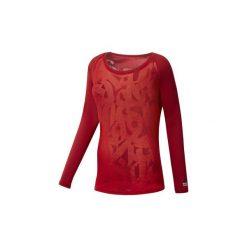 T-shirty z długim rękawem Reebok Sport  Koszulka  CrossFit Burnout. Czerwone bluzki sportowe damskie Reebok Sport, l, z długim rękawem. Za 229,00 zł.