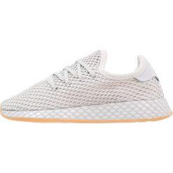 Adidas Originals DEERUPT RUNNER J Tenisówki i Trampki grey one/light solar grey. Szare buty sportowe chłopięce marki adidas Originals, z materiału. Za 449,00 zł.