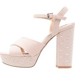 Sandały damskie: Miss Selfridge CROWN Sandały na obcasie taupe/beige