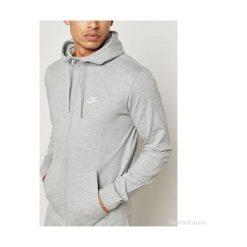 Bejsbolówki męskie: Nike Bluza męska M NSW Hoodie FZ JSY Club szara r. XL  (861754-063)