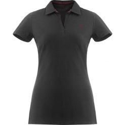 Bluzki asymetryczne: Koszulka polo w kolorze czarnym