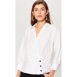 Koszula kimono - Biały. Białe koszule damskie marki Mohito. W wyprzedaży za 69,99 zł.