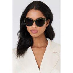 Okulary przeciwsłoneczne damskie: Cheap Monday Okulary przeciwsłoneczne Forever – Green,Multicolor