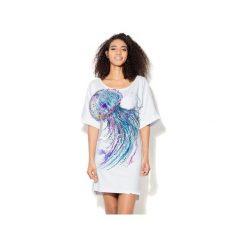 Sukienka CP-024  59. Fioletowe sukienki dzianinowe marki Colour pleasure, uniwersalny. Za 149,00 zł.