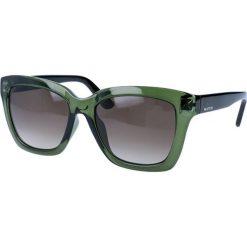 """Okulary przeciwsłoneczne damskie: Okulary przeciwsłoneczne """"V699SA"""" w kolorze zielonym"""
