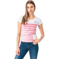 4f Koszulka damska H4L18-TSD012 czerwona r. L. Czerwone bluzki damskie marki 4f, l. Za 32,90 zł.