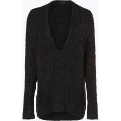 Review - Sweter damski, szary. Szare swetry klasyczne damskie marki Review, l, z tkaniny, z okrągłym kołnierzem. Za 219,95 zł.
