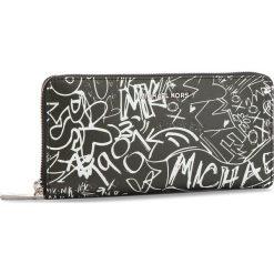 Duży Portfel Damski MICHAEL MICHAEL KORS - Money Pieces 32T8SF6E3T  Black. Czarne portfele damskie MICHAEL Michael Kors, ze skóry. Za 659,00 zł.