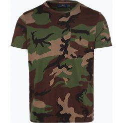 Polo Ralph Lauren - T-shirt męski, zielony. Zielone koszulki polo Polo Ralph Lauren, l, moro, z bawełny. Za 359,95 zł.