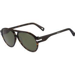 """Okulary przeciwsłoneczne damskie: Okulary przeciwsłoneczne """"GS608S THIN SNIPER 214"""" w kolorze brązowym"""