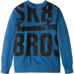 Bluza dresowa bonprix niebieski z nadrukiem. Czerwone bluzy chłopięce rozpinane marki KALENJI, m, z elastanu, z długim rękawem, długie. Za 37,99 zł.
