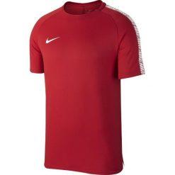 Nike Koszulka męska Squad Top czerwona r. XL (859850-608). Czerwone t-shirty męskie Nike, m, do piłki nożnej. Za 90,90 zł.