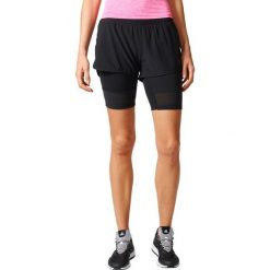 Spodenki sportowe męskie: Adidas Spodenki damskie 2IN1 Long Short czarne r. M (BK7690)