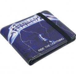 Metallica Ride The Lighting Portfel czarny. Czarne portfele męskie Metallica. Za 62,90 zł.