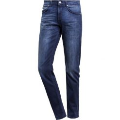 7 for all mankind SLIMMY  Jeansy Slim Fit dunkelblau. Niebieskie jeansy męskie relaxed fit 7 for all mankind. W wyprzedaży za 789,65 zł.