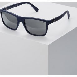 Polo Ralph Lauren Okulary przeciwsłoneczne blue. Niebieskie okulary przeciwsłoneczne męskie aviatory Polo Ralph Lauren. Za 529,00 zł.