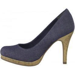 Tamaris Czółenka Damskie Taggia 38 Ciemnoniebieskie. Białe buty ślubne damskie marki Kazar, ze skóry, na wysokim obcasie, na szpilce. W wyprzedaży za 139,00 zł.