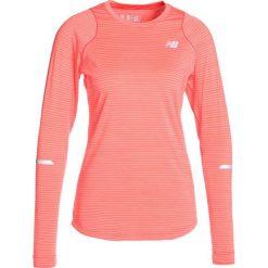 New Balance SEASONLESS Koszulka sportowa orange. Brązowe topy sportowe damskie New Balance, xs, z elastanu, z długim rękawem. Za 249,00 zł.