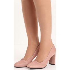 Różowe Czółenka Forever You. Czerwone buty ślubne damskie marki Born2be, na wysokim obcasie, na słupku. Za 79,99 zł.