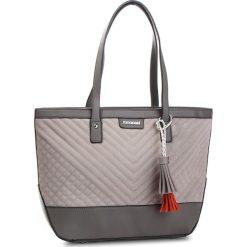 Torebka MONNARI - BAG9220-019 Grey. Szare torebki klasyczne damskie Monnari, z materiału. W wyprzedaży za 169,00 zł.