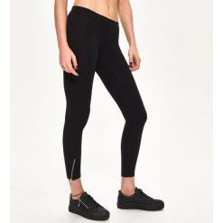 Bawełniane legginsy - Czarny. Czarne legginsy Sinsay, l, z bawełny. Za 29,99 zł.