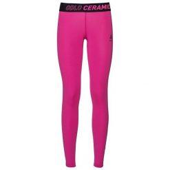 Odlo Spodnie tech. Odlo Pants Ceramicool                         - 160251 - 160251/30330/S. Różowe spodnie dresowe damskie Odlo, s. Za 123,14 zł.