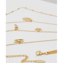 Biżuteria i zegarki: Orelia SPIRITUAL CHARM NECKLACE MULTI ROW Naszyjnik goldcoloured