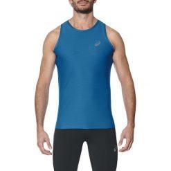 Asics Koszulka męska Singlet niebieska r. XL (134082 8154). Czarne koszulki sportowe męskie marki Asics. Za 69,17 zł.