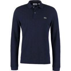 Lacoste SLIM FIT PH4013 Koszulka polo navy blue. Szare koszulki polo marki Lacoste, z bawełny. Za 419,00 zł.