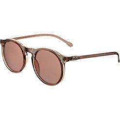 Le Specs BOJANGLES Okulary przeciwsłoneczne brown stripe. Brązowe okulary przeciwsłoneczne damskie wayfarery Le Specs. Za 209,00 zł.