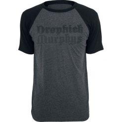 T-shirty męskie: Dropkick Murphys Anchor T-Shirt ciemnoszary/czarny