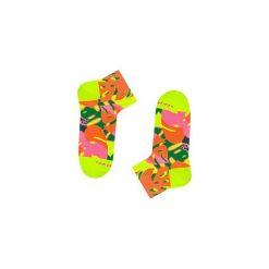 Neonowa 90m3 - Skarpetki stopki. Brązowe skarpetki męskie marki NABAIJI, z elastanu. Za 21,25 zł.