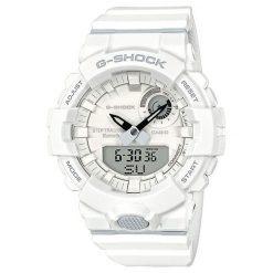 Zegarek Casio Męski G-Shock G-SQUAD GBA-800-7AER Step Tracker biały. Białe zegarki męskie CASIO. Za 459,00 zł.