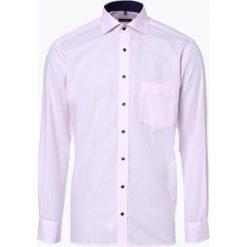 Eterna Modern Fit - Koszula męska niewymagająca prasowania, różowy. Fioletowe koszule męskie non-iron marki KIPSTA, m, z elastanu, z długim rękawem, na fitness i siłownię. Za 199,95 zł.