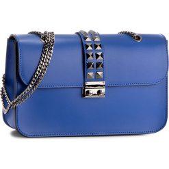 Torebka CREOLE - K10349 Niebieski. Niebieskie torebki klasyczne damskie Creole, ze skóry. W wyprzedaży za 199,00 zł.