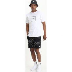 T-shirty męskie z nadrukiem: HUF BOX LOGO Tshirt z nadrukiem white