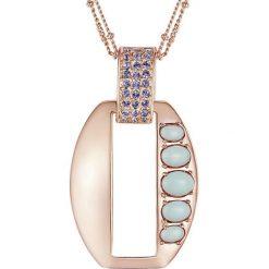Naszyjniki damskie: Pozłacany naszyjnik z zawieszką – dł. 41,5 cm