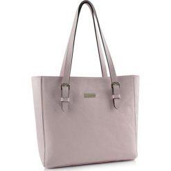 Torebki klasyczne damskie: Skórzana torebka w kolorze różowym – (S)40 x (W)30 x (G)13 cm