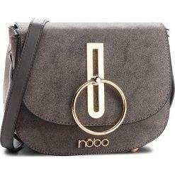 Torebka NOBO - NBAG-F0180-C019 Szary. Szare listonoszki damskie marki Nobo, z materiału, zdobione. W wyprzedaży za 129,00 zł.