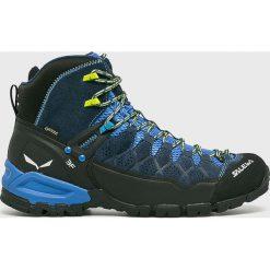 Salewa - Buty. Szare buty trekkingowe męskie Salewa, z gore-texu, na sznurówki, outdoorowe, gore-tex. Za 849,90 zł.