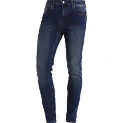 KIOMI Jeans Skinny Fit darkblue denim. Niebieskie rurki męskie KIOMI. Za 159,00 zł.