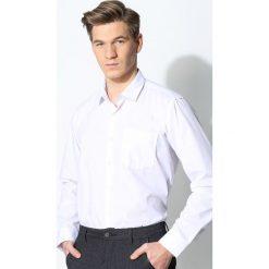 Biała Koszula Work Of Art. Białe koszule męskie na spinki marki Reserved, l. Za 39,99 zł.