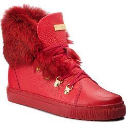Sneakersy EVA MINGE - Cangas 4F 18BD1372642EF  108. Czerwone sneakersy damskie Eva Minge, z materiału. W wyprzedaży za 409,00 zł.