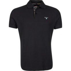 Barbour TARTAN  Koszulka polo navy. Niebieskie koszulki polo Barbour, m, z bawełny. Za 349,00 zł.