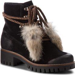 Trapery EVA MINGE - Icod 4I 18BD1372645EF  801. Czarne buty zimowe damskie marki Eva Minge, z materiału. W wyprzedaży za 419,00 zł.