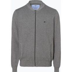 Fynch Hatton - Kardigan męski, szary. Szare swetry rozpinane męskie Fynch-Hatton, l, z bawełny, eleganckie. Za 399,95 zł.