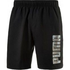 Bermudy męskie: Puma Spodenki Sportowe Hero Woven Shorts Black Neutra Xl